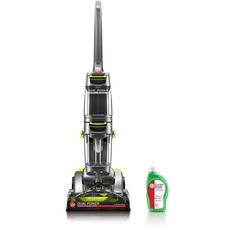 Hoover Dual Power Carpet Cleaner Rugs Scrubber Shampooer Brush Washer New Deep #HooverDualPowerCarpetCleaner
