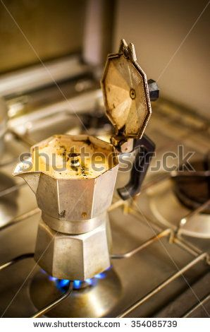 Foam Comes Out Coffee Stock Photos, Images, & Pictures    Shutterstock  #coffee #cafeteria #shop #coffeeshop #vintage #caffè