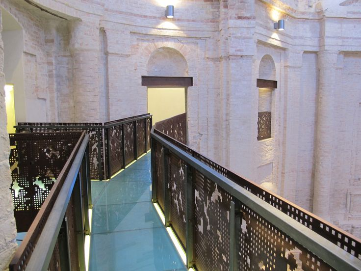 Corridoio ex chiesa dell'Annunziata #CIAC #Foligno #ginodedominicis