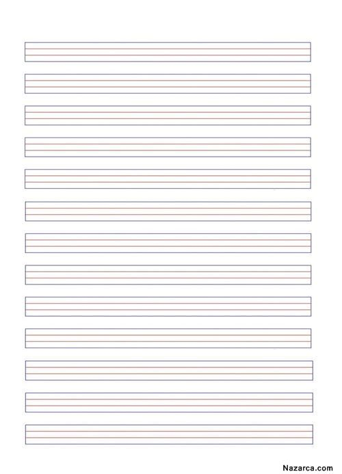 a4 çizgili kağıt ile ilgili görsel sonucu