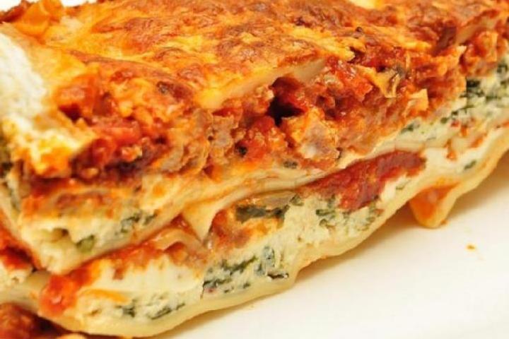 Lasagna Spinaci (Italian Spinach Lasagna) Recipe