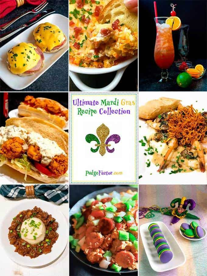 33 incredible recipes Mardi Gras Recipes that will tantalize your taste buds take you from easy beginnings to dramatic endings and everything in between.