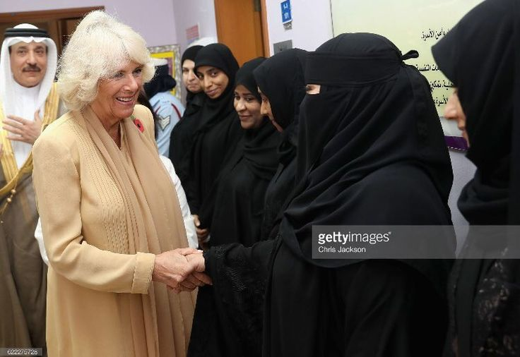 "Chris Jackson on Twitter: ""The Duchess of Cornwall visited Dal Al Aman woman's refuge this morning hearing about their work and meeting staff and volunteers"