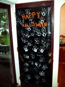 There are so many creative people out there! Check out all the fun Halloween decorations made with hands & feet I have come across over the years…..  have a spook-tacular time browsing through all the creativity!  BATS Hand-y Hanging Bat Craft Source: Katie's Nesting Spot Flying on the ceiling Handprint Bats Source: Reading Confetti Paper...