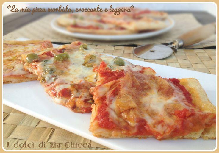 La mia pizza morbida, croccante e leggera come non l'avete mai mangiata, una ricetta assolutamente da provare.
