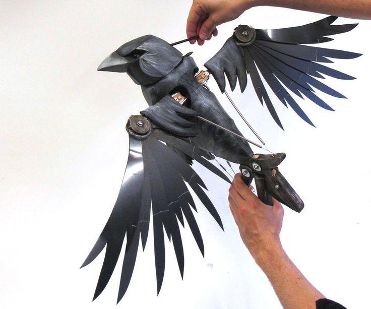 Mechanical bird puppet bird puppet puppets lion witch