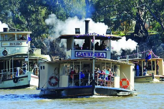 Paddle Steamer (PS) Canberra, Echuca