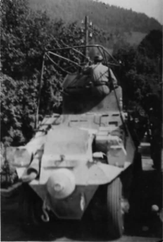ADGZ german armoured car