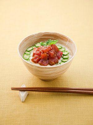 【ELLE a table】しょうゆ麹のまぐろ山かけ丼 レシピ|エル・オンライン