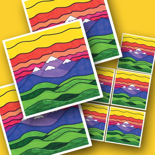 I have several students art magnets and have kept them for years!! Such a fantastic idea...I love square 1 art :)    Magnets with your child's art on it.  Order now at www.square1art.com/shop