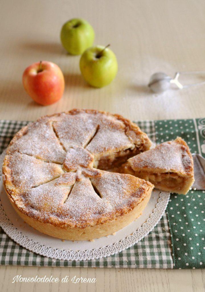 Ricetta Torta Di Mele Americana.Apple Pie Torta Di Mele Americana Di Nonna Papera Idee Alimentari Ricette Ricette Di Cucina