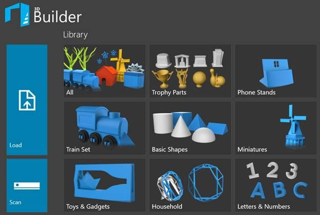 3d Builder User Manual 3d Printing Now Comes Included