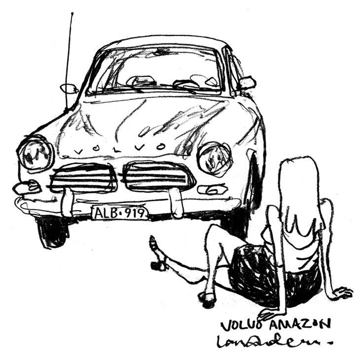 Volvo Amazon. By Lars Andersen