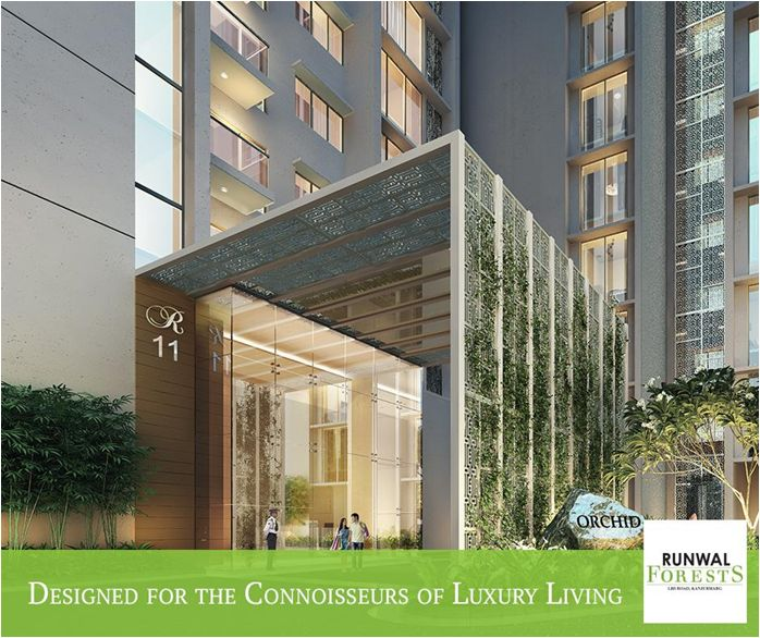 An iconic residential development on LBS Road in Kanjurmarg West,Mumbai, Runwal Forests is spread across an impressive 16 acres with 5 acres of landscaped areas, and features 12 high-rise residential towers.