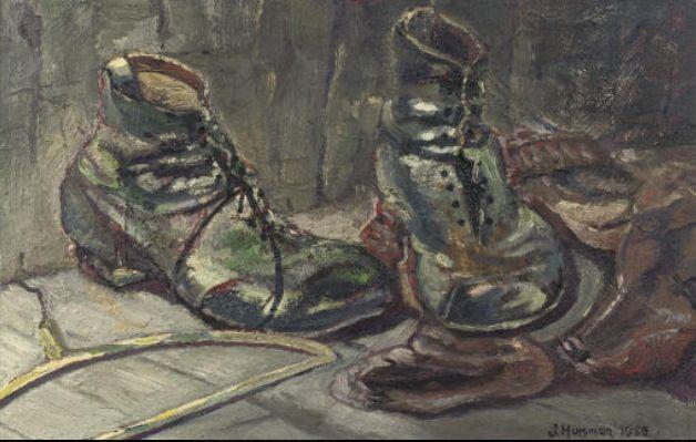 Oude schoenen van: Jopie Huisman