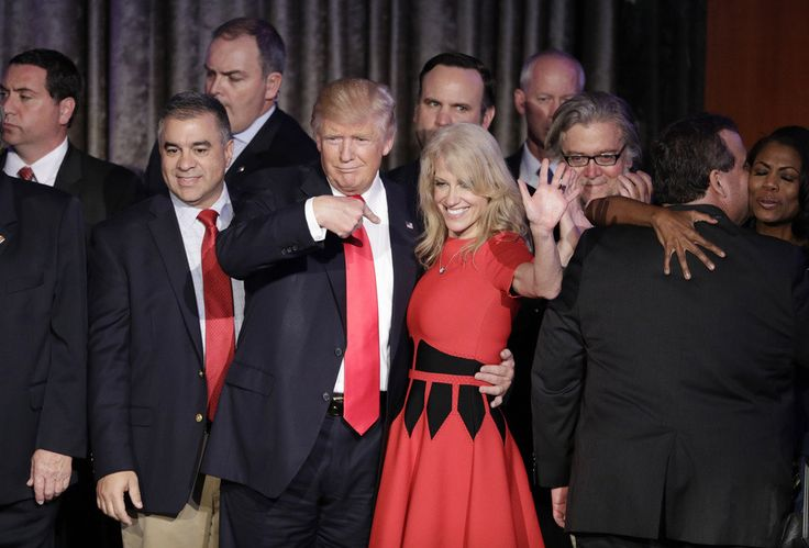 Donald Trump's intrepid 49-year-old campaign manager, Kellyanne Conway, will go down in history as the first woman to ever manage a successful presidential campaign. The veteran Republican pollster and mother of four became Trump's campaign manager in late August, shortly after her predecessor, Paul Manafort, resigned from the post. Manafort had assumed the role of campaign manager following Trump's firing of Corey Lewandowski, a New Hampshire native and GOP campaign operative who ran the…