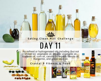 Day 11 - Eating Clean Mini Challenge