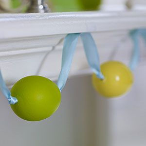 DIY Easter Egg Garland - How Easy and Simple is That!