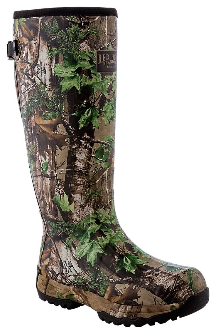RedHead Guide Camo Rubber Boots for Men | Bass Pro Shops