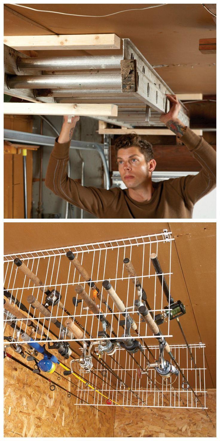 Ingenious Garage Storage Ideas http://www.familyhandyman.com/diy-advice/sneak-peek-ingenious-garage-storage-ideas