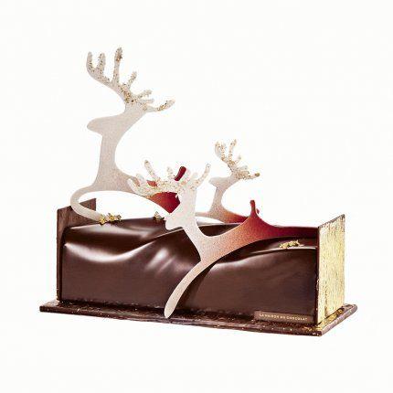 Bûche Conte de Noël – La Maison du Chocolat 2013.
