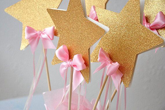 Twinkle Twinkle Little Star Centerpiece Star by courtneyorillion