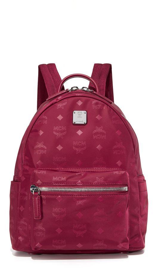 MCM Nylon Backpack