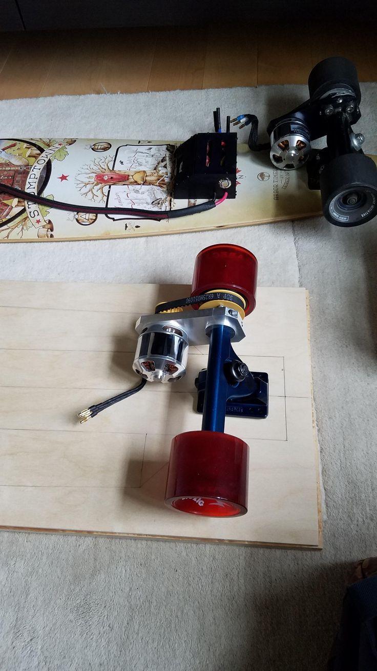 DIY Electric Longboard - Nothing Underneath! (#QuickCrafter)