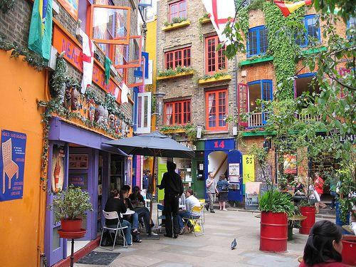 Livable Streets, Seven Dials, London