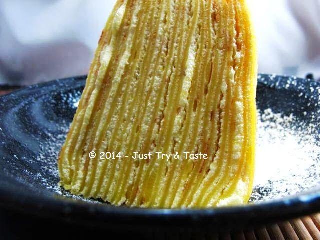 Just Try & Taste: Mille Crepes - Cake dengan Seribu Lapis