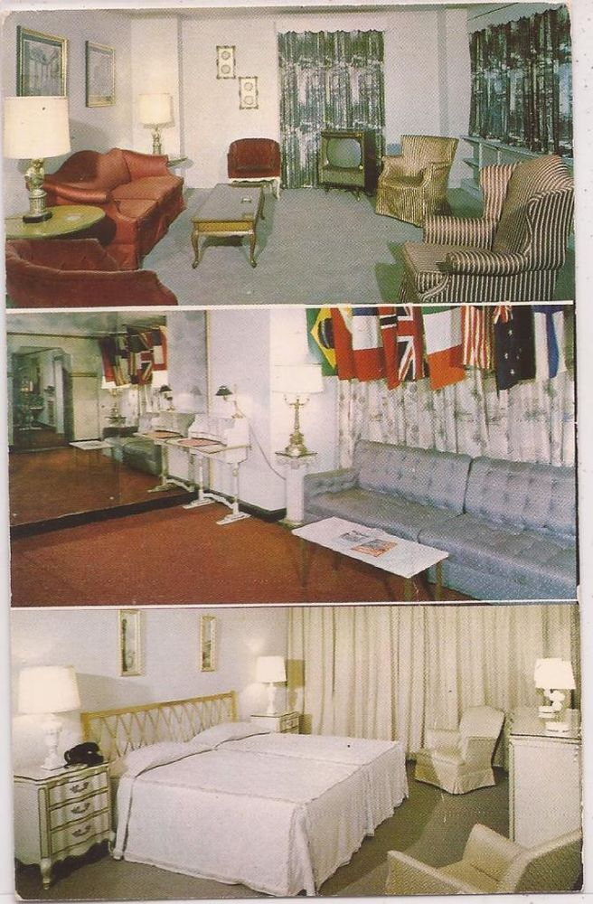 Motel Room Interiors: 17 Best Images About Vintage New York City Hotel Postcards