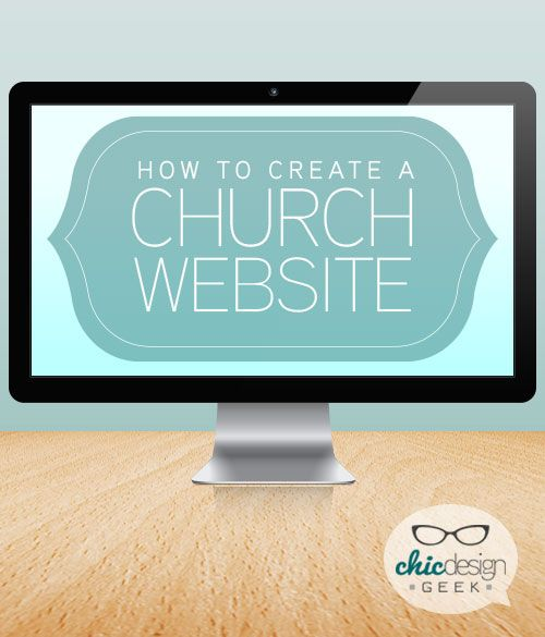 create a church website