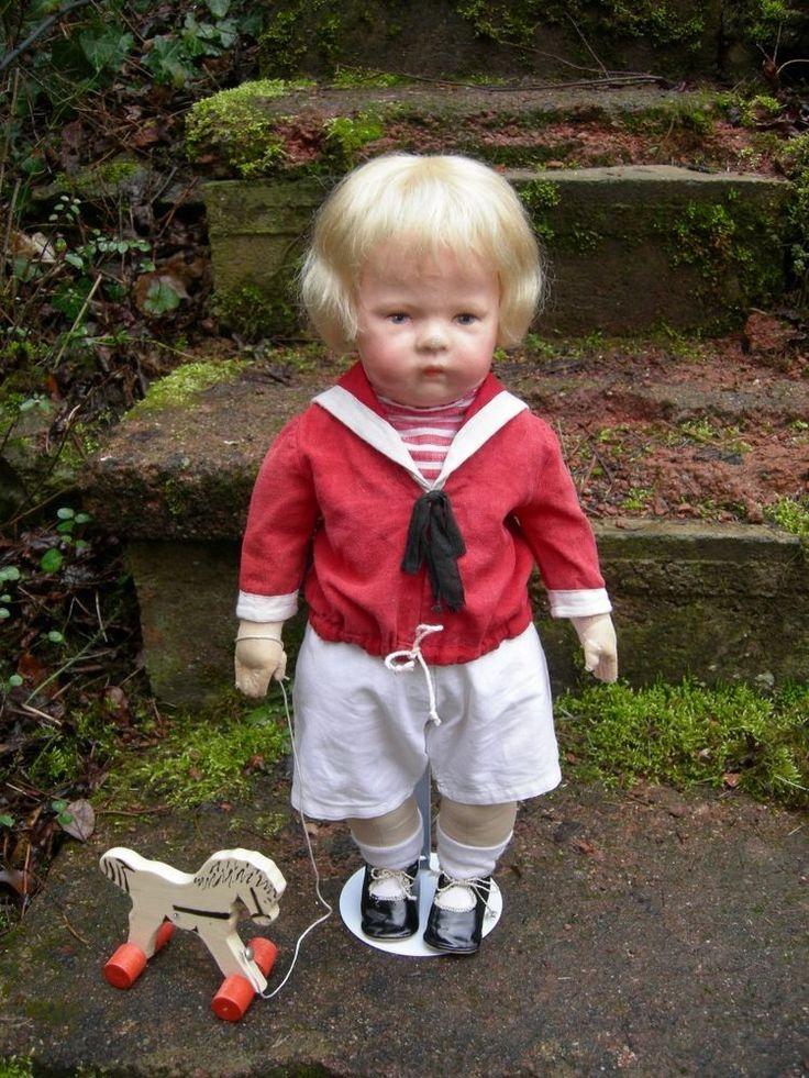 Antike frühe Käthe Kathe Kruse Puppe IH, breite Hüften, Mohairhaare, Junge! 43cm | Antiquitäten & Kunst, Antikspielzeug, Puppen & Zubehör | eBay!