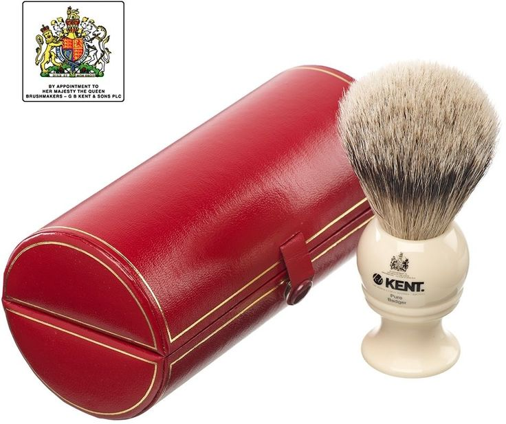 Kent Medium, Pure Silver-Tipped Badger Shaving Brush, Cream    Take  this Great Item. By Touch2 Is always Bringing Great Stuff to you :)