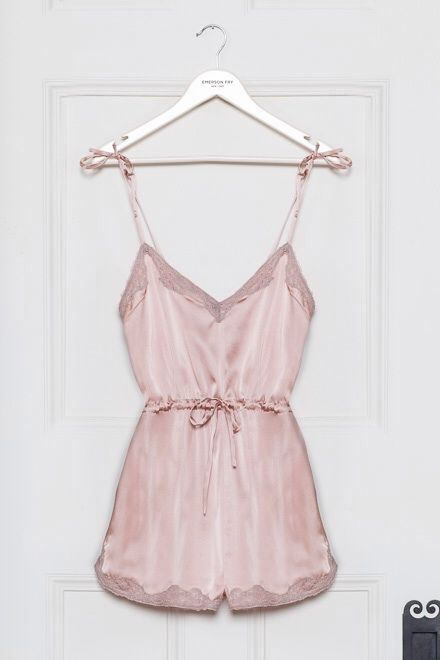 pale rose lingerie teddy