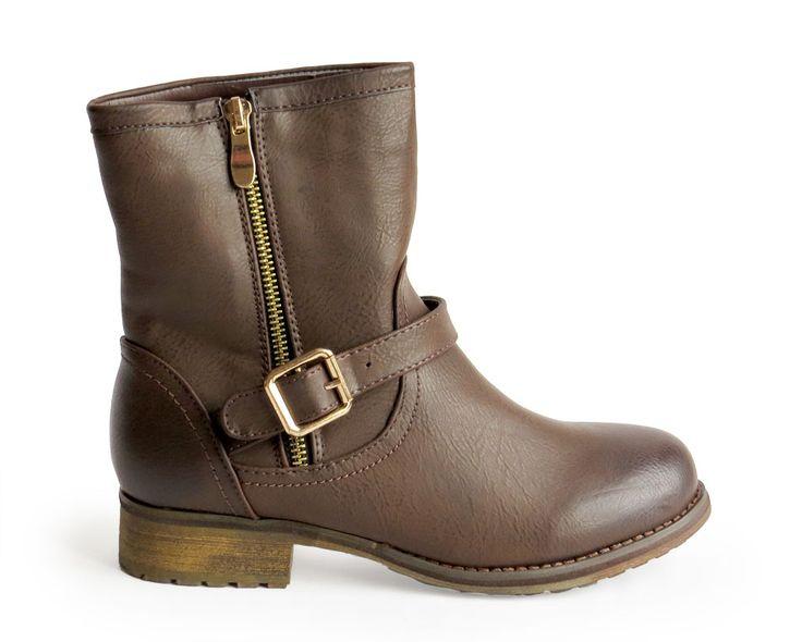 botas con hebilla marrón 29,90€ www.calzadospayma.com