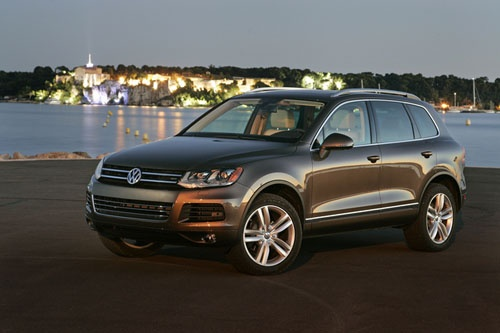 12.  As of July, I am driving a black 2012 Volkswagon Touareg. I think it is going to be around a long time.    :)