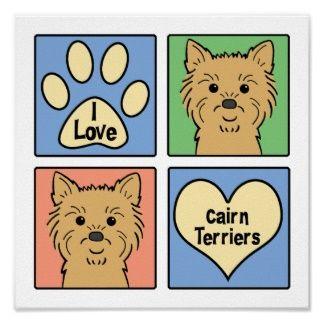 Carin terrier artwork | Cairn Terrier Cartoon Posters, Cairn Terrier Cartoon Prints, Art ...