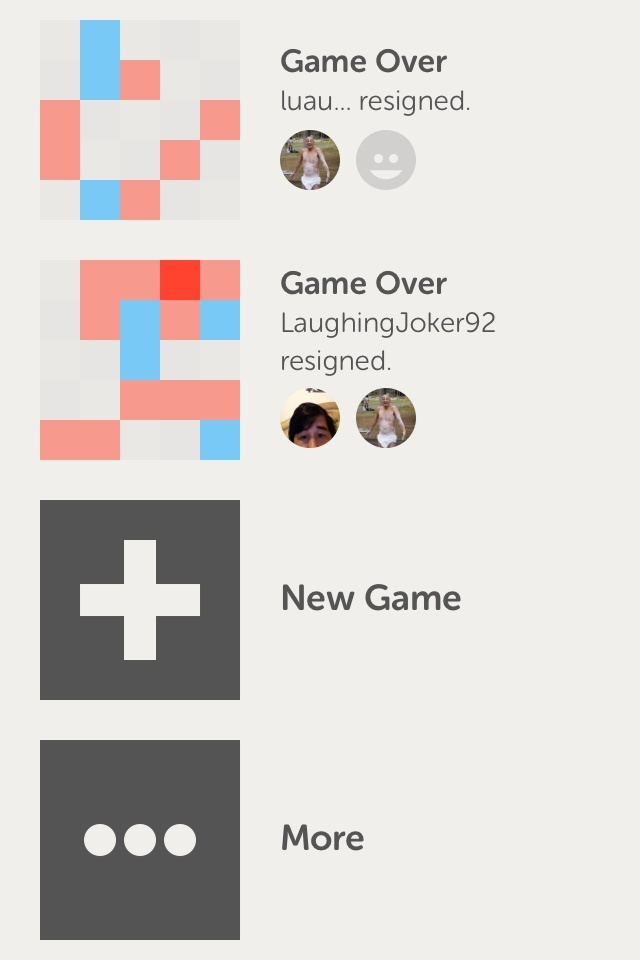 Letterpress / atebits  Keep it simple! Awesome design with great animations. This game only use two main colors for their palette.