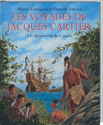 Voyages de Jacques Cartier (Les) : à la découverte du Canada   l'école des loisirs