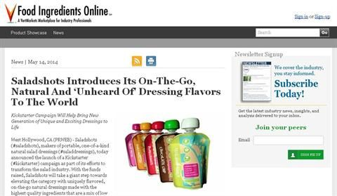 via @CrowdFundCentre: Saladshots Introduces Its On-The-Go, Natural And 'Unheard Of' Dressing Flavors To The World!  Our kickstarter: https://www.kickstarter.com/projects/984793681/saladshots-re-inventing-salad-dressing
