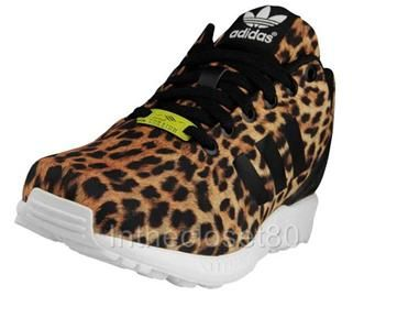 Adidas Zx Flux Womens Leopard
