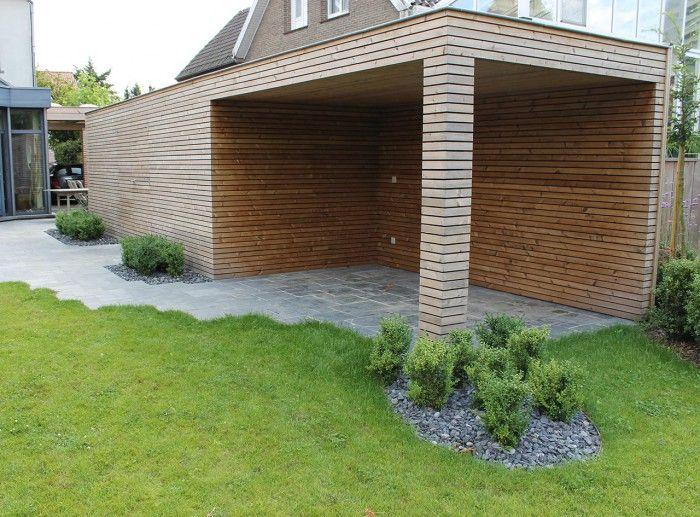 tuinhuis met overkapping en open haard - Google zoeken