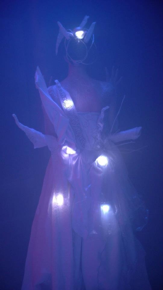 Hansel & Gretel Installation Production Photo, back