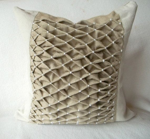 41 Best Images About ♡ Smocked Pillows ♡ On Pinterest