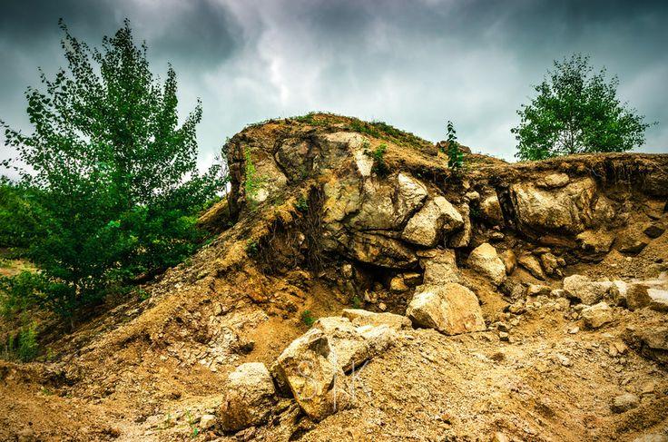 Ancient rock by Roman Kozhukhov on 500px #landscape #nature #hdr #rocks #dramatic #russia #Россия #природа #пейзажи