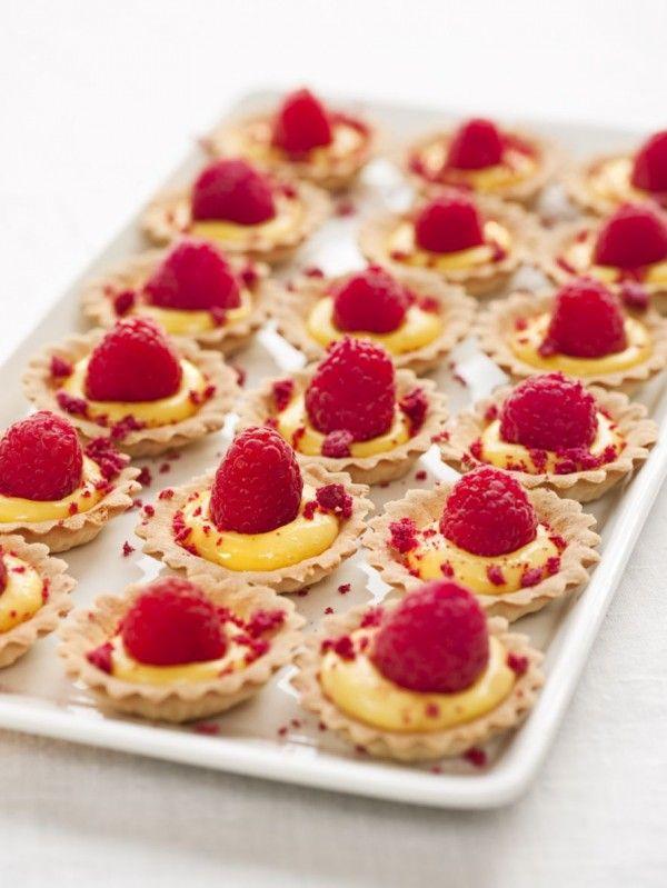 sea buckthorn (sanddorn) curd with raspberries @ Swedish food