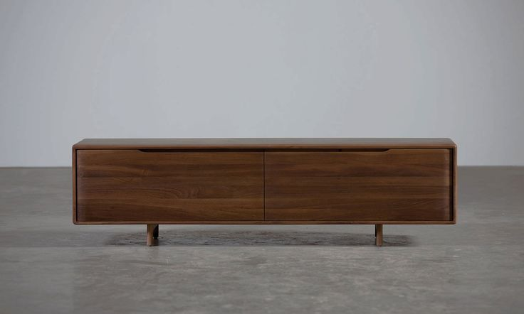 Credenza moderna / in legno / massiccia INVITO by Michael Schneider  Artisan Solid Wood Furniture
