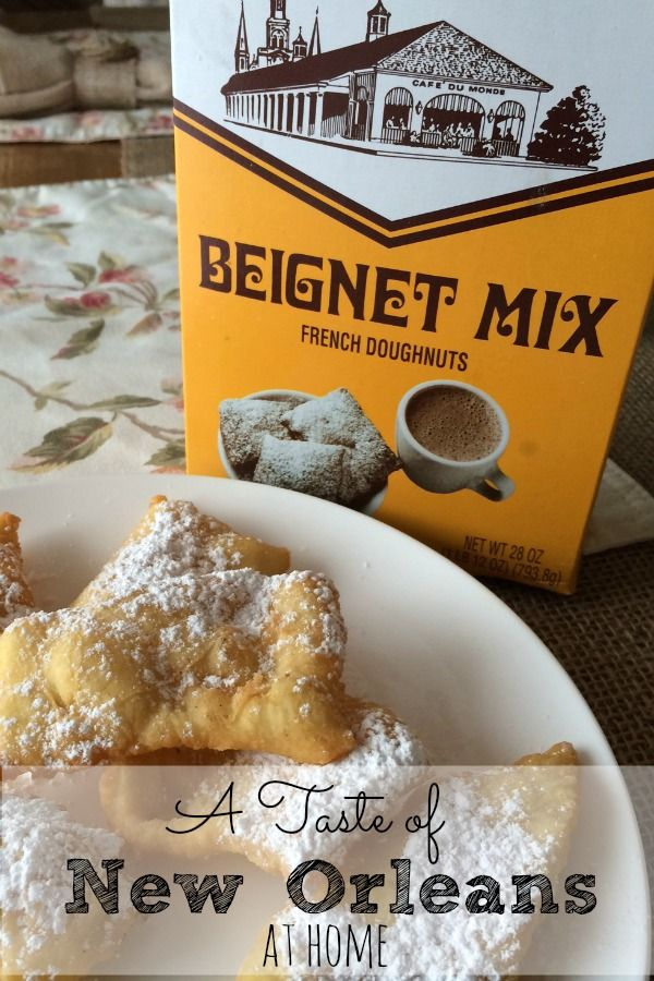 A Taste of New Orleans at Home with Beignet Mix from Cafe du Monde