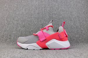 c95895921f00 Womens Nike Air Huarache City Low Atmosphere Grey Hot Punch White AH6804  007 Running Shoes